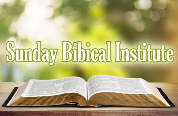 Sunday Bible Institute