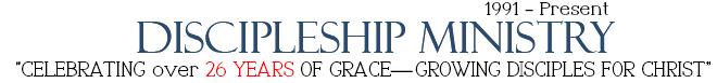 Discipleship Years